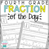 Fraction of the Day Practice 4th Grade