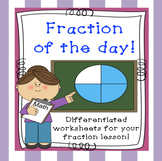Fraction of the Day / Week