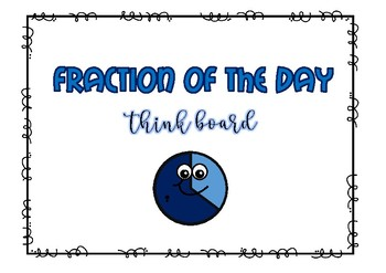 Fraction of the day Thinkboard