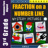 Math Coloring 3rd Grade Number Line Fraction Worksheets Mystery Pictures
