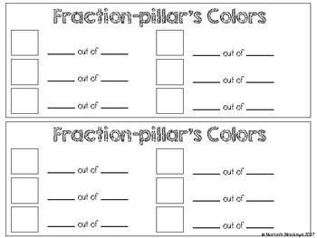 Fraction-pillar: A Math Fraction Activity