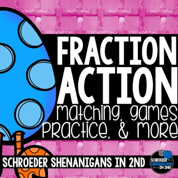 Fraction practice - I have, Who has, fraction matching
