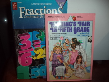 Fraction s,Decimals & Percents   Norhting's Fair in Fifth Grade(2bks)