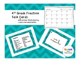 Fraction Task Cards (equivalent and simplifying fractions)