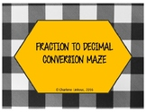 Fraction to Decimal Conversion Maze