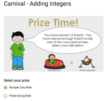 Fraction to Decimal Conversions – Google Carnival Game