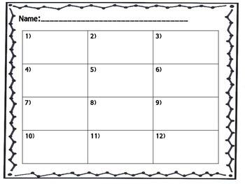 Fraction to Decimal Task Cards
