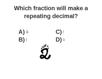 Fraction to Decimal Walkabout