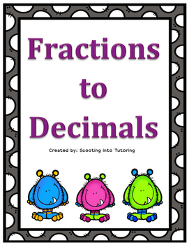 Fraction to Decimals