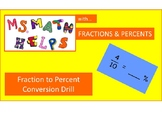 Fraction to Percent Drill