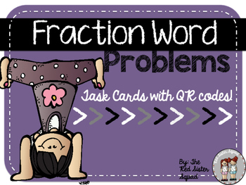 Fraction word problems!