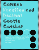 Fraction/Decimal Cootie Catcher