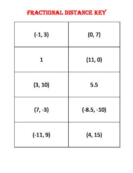 Fractional Distance Practice Problems
