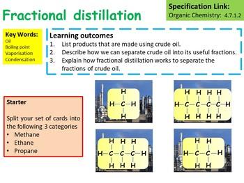 Fractional Distillation Lesson