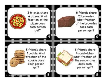 Fractional Fair Share Task Cards