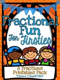 Fractional Fun for Firsties Printables {CCSS Aligned}