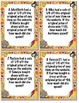 Thanksgiving Fractional Markdown/Markup Coloring Activity and Task Cards