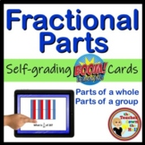 Boom Cards Fractional Parts