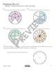 Fractional Parts of a Circle with Turns Math Video and Worksheet