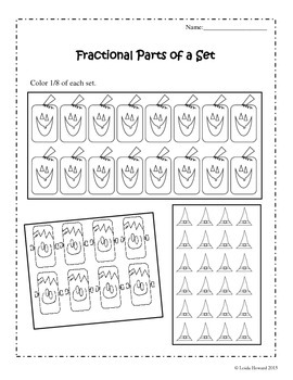 Fractional Parts of a Set (Halloween Theme)