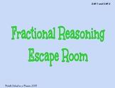 Fractional Reasoning Digital Escape Room