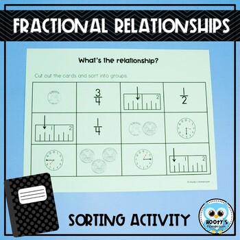 fractional relationships sort by hooty 39 s homeroom tpt. Black Bedroom Furniture Sets. Home Design Ideas
