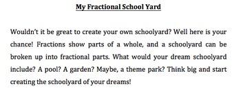 Fractional Schoolyard: Simplest form