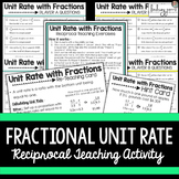 Fractional Unit Rate Reciprocal Learning Activity {Editable}