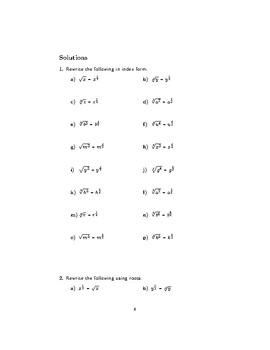 Fractional indices