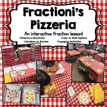 Fractioni's Pizzeria-An Interactive Fraction Lesson with an Italian Twist!