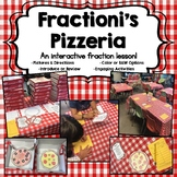 Fractioni's Pizzeria-An Interactive Fraction Lesson with a