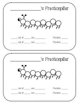 Fractionpillar: Eighths Fraction Activity