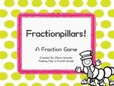 Fractionpillars- A Task Card Fraction Game!