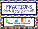 Fractions (1/2) and (1/4)