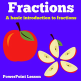 Fractions | Kindergarten 1st 2nd 3rd 4th Grade | PowerPoin