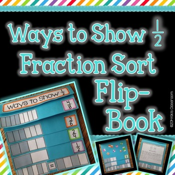 Equivalent Fractions Activity - Fractions 3rd Grade