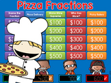 Fractions Jeopardy Style Game Show