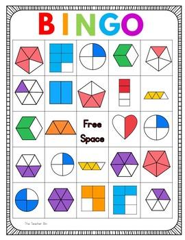 Kindergarten - 1st Grade- Special Education -Fractions