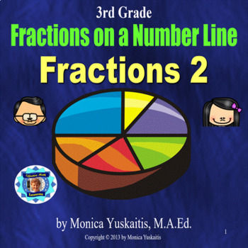 Common Core 3rd - Fractions 2 - Fractions on a Number Line