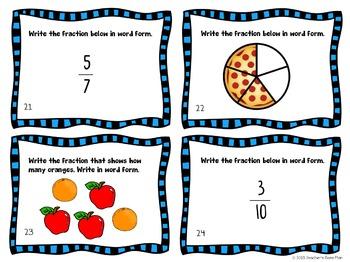 Fractions - 2 Sets of Task Cards