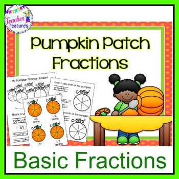 Pumpkin Math Centers: Fractions