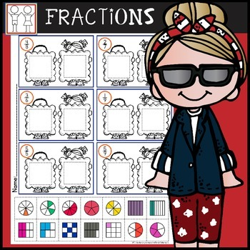 Fractions Cut and Paste