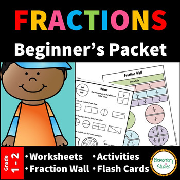 Fraction Worksheets and Activities for Grade 1 and 2