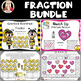 Fractions Math Stations BUNDLE