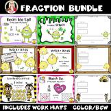 Fractions Math Stations BUNDLE