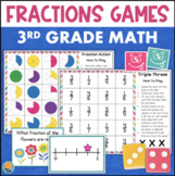 3rd Grade Fractions Games for Math Centers