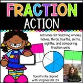Fraction Action (Virginia SOL 2.4)