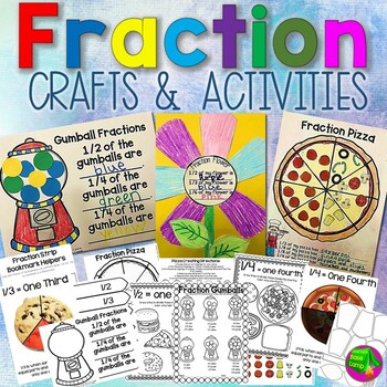 Fraction Crafts and Activities