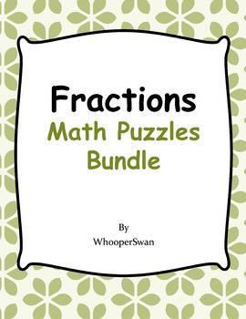 Fractions Puzzles Bundle