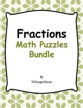 Fractions Puzzles Bundle